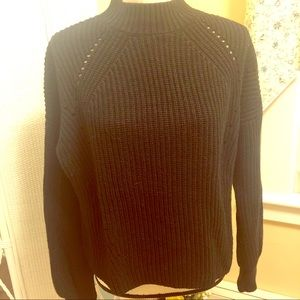 Gap chunky knit funnel neck pullover